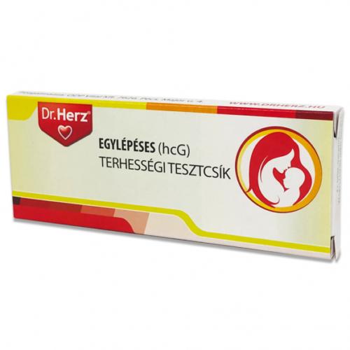 Dr.Herz Egylépéses(10 mIU/ml hcG) terhességi tesztcsík
