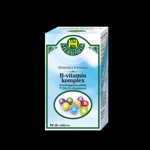 Herbária B-komplex étrend-kiegészítő tabletta
