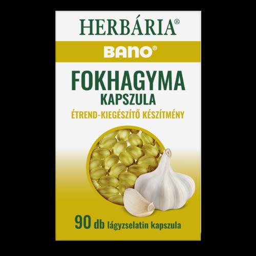 Bano Fokhagyma kapszula étrend-kiegészítő készítmény