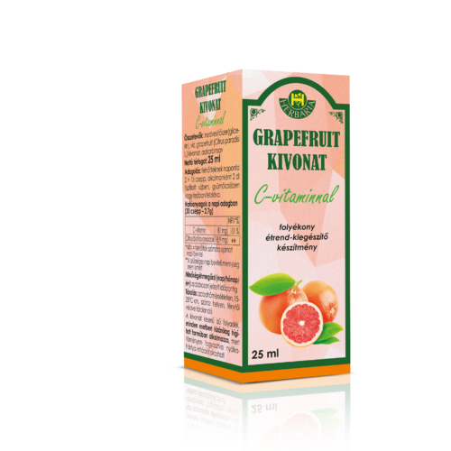 Herbária Grapefruit kivonat folyékony étrend-kiegészítő készítmény 25ml