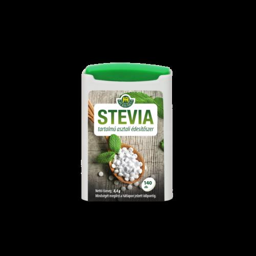 Stevia tartalmú asztali édesítőszer 140db tabletta