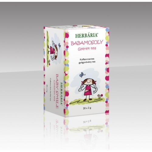 Herbária Babamosoly Gyerek tea, filteres