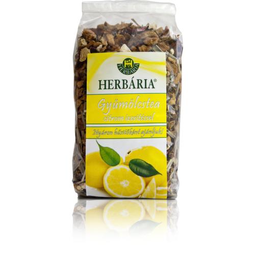 Herbária Gyümölcstea citrom darabokkal 120g
