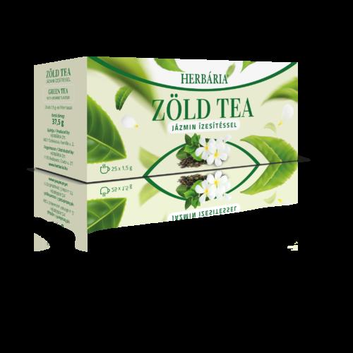 Herbária Zöld tea jázmin ízesítéssel 25 db