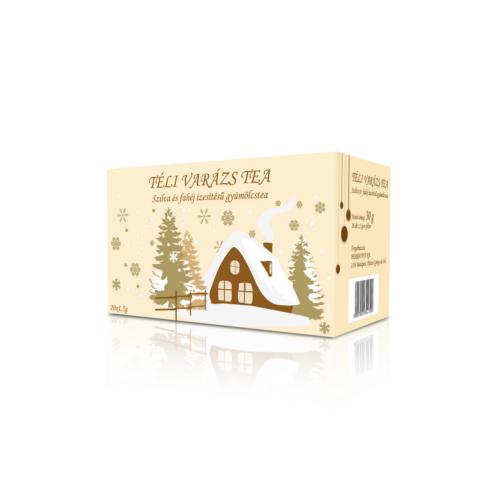 Herbária Téli Varázs szilva-fahéj ízű filter tea