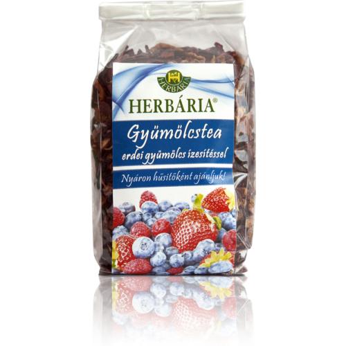 Herbária Gyümölcstea erdei gyümölcs darabokkal 120g