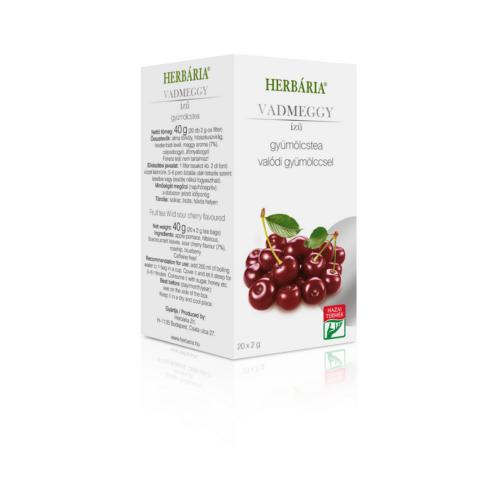 Herbária filteres Gyümölcstea Vadmeggy ízű