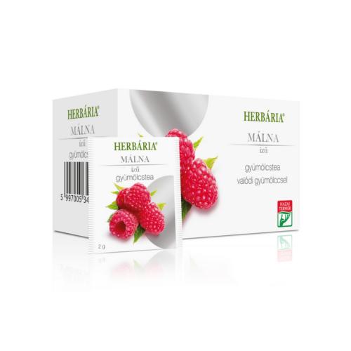 Herbária Málna ízű filter tea