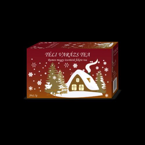 Herbária Téli varázs rumos meggy ízesítésű filter tea