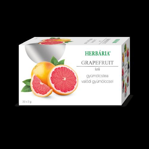 Herbária filteres Gyümölcstea grapefruit ízű
