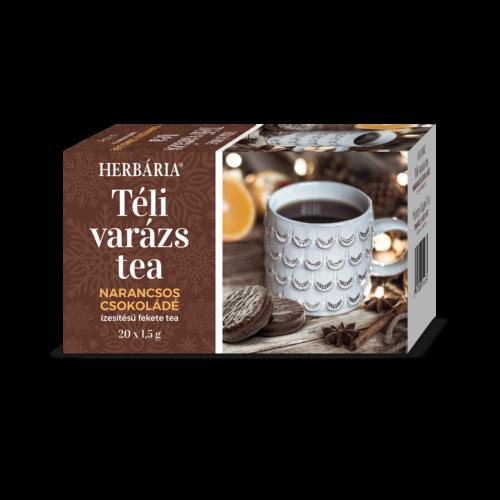 Herbária Téli Varázs narancsos csoki ízű teakeverék