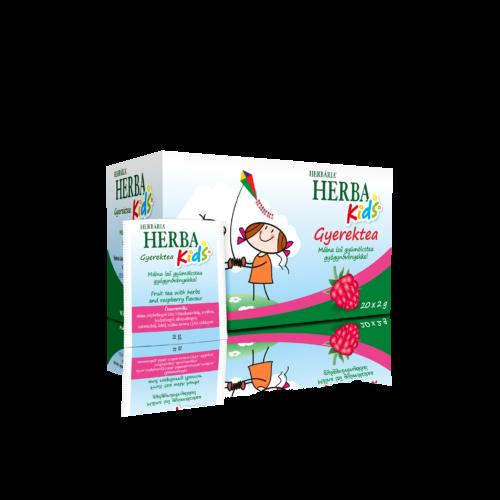 Herba Kids Málna ízű gyümölcstea gyógynövényekkel