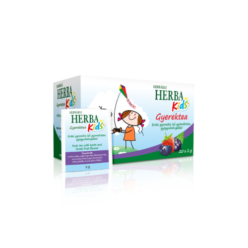 Herba Kids Erdei gyümölcs ízű gyümölcstea gyógynövényekkel