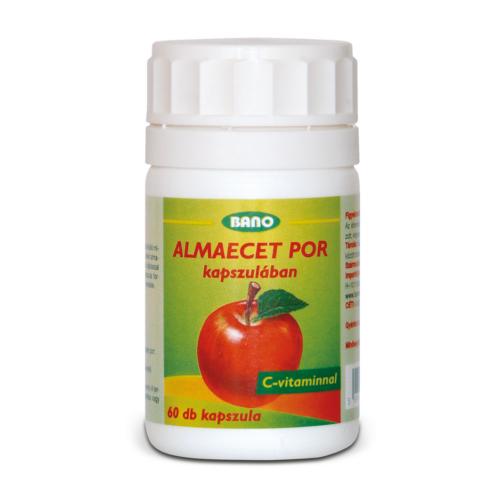Bano Alamecet por kapszula C-vitaminnal étrend-kiegészítő készítmény 60 db