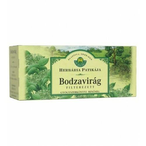 Herbária Bodzavirág filteres tea 25 db