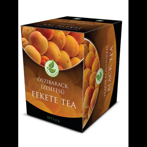 Herbária Őszibarack ízesítésű fekete tea
