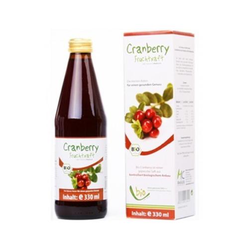 Tőzegáfonya 100% bio gyümölcslé 330 ml