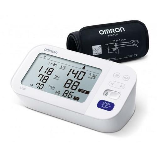 OMRON M6 Comfort Intellisense felkaros vérnyomásmérő pitvarfibrilláció (AFib) üzemmóddal