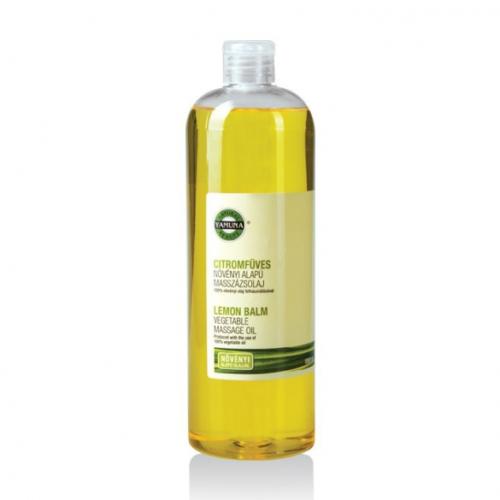 Yamuna Növényi alapú citromfüves masszázsolaj 1000 ml