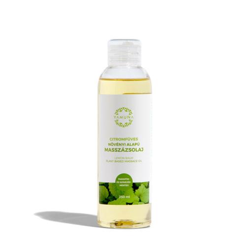 Yamuna Növényi alapú citromfüves masszázsolaj 250 ml