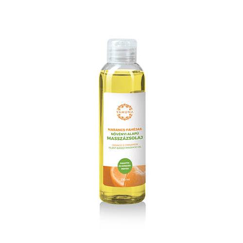 Yamuna Növényi alapú narancs-fahéjas masszázsolaj 250 ml