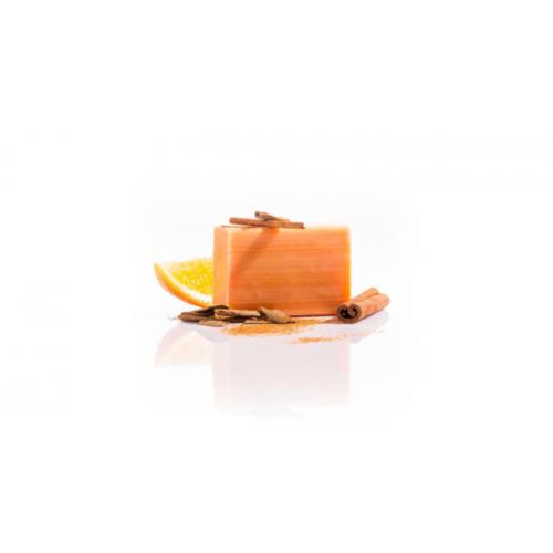 Yamuna Hidegen sajtolt narancs-fahéj szappan