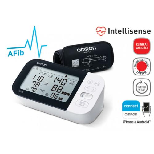 OMRON M7 Intelli IT Intellisense felkaros okos-vérnyomásmérő pitvarfibrilláció (AFib) üzemmóddal