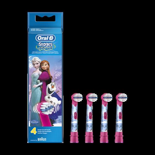 Oral-B EB10-4 pótfej 4 db gyerek Frozen