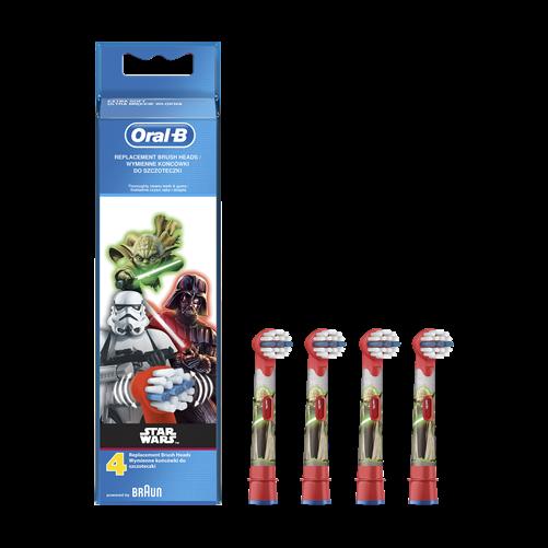 Oral-B EB10-4 pótfej 4 db gyerek Star Wars