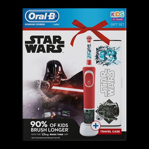 Oral-B D100 elektromos fogkefe Star Wars + utazótok