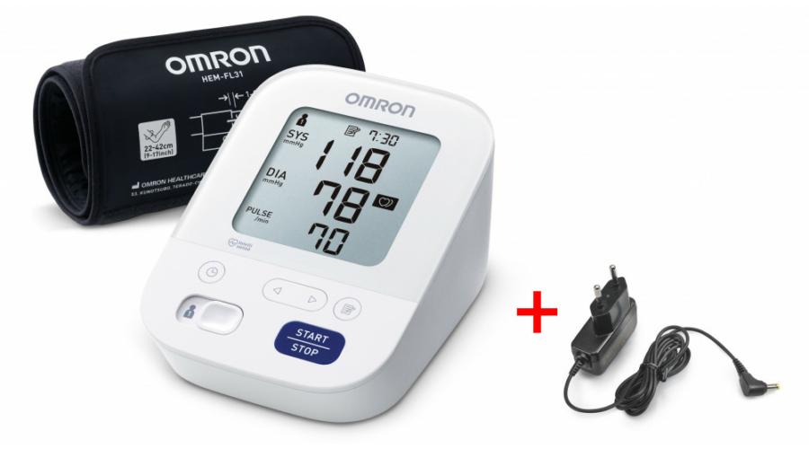OMRON M3 Comfort Intellisense felkaros vérnyomásmérő..
